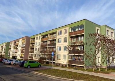 Panelový dům v ulici Mladská 659 - 664